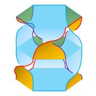 The Seifert surface for the Borromean rings