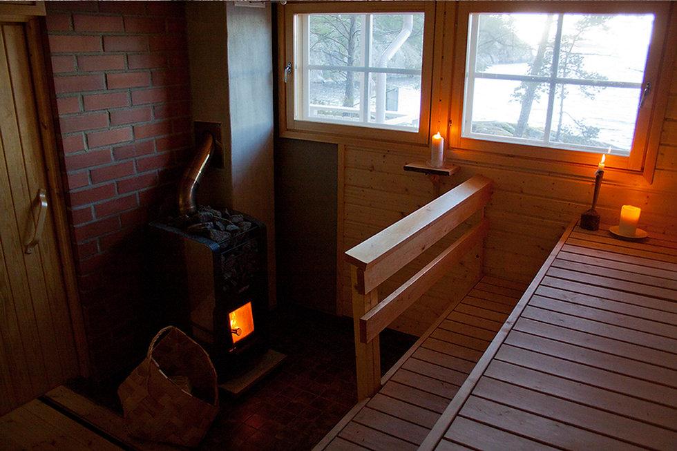 bastu sauna brännskär nauvo
