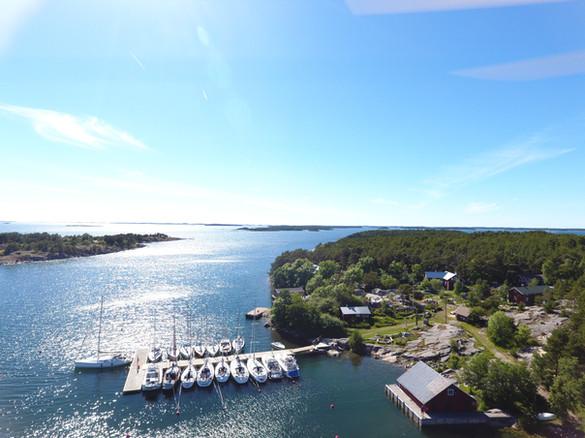 harbours in the archipelago brännskär