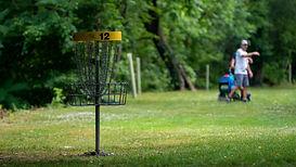 frisbee golf Brännskär