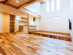 若狭町・小浜市にある自然素材の工務店[夢源建築]の施工事例 直線的な外観の家8