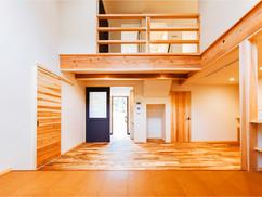 若狭町・小浜市にある自然素材の工務店[夢源建築]の施工事例 直線的な外観の家13