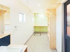 若狭町・小浜市にある自然素材の工務店[夢源建築]の施工事例 高気密の家9