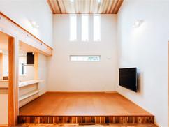 若狭町・小浜市にある自然素材の工務店[夢源建築]の施工事例 直線的な外観の家11