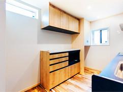 若狭町・小浜市にある自然素材の工務店[夢源建築]の施工事例 直線的な外観の家20