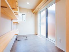 若狭町・小浜市にある自然素材の工務店[夢源建築]の施工事例 直線的な外観の家22