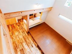 若狭町・小浜市にある自然素材の工務店[夢源建築]の施工事例 直線的な外観の家9