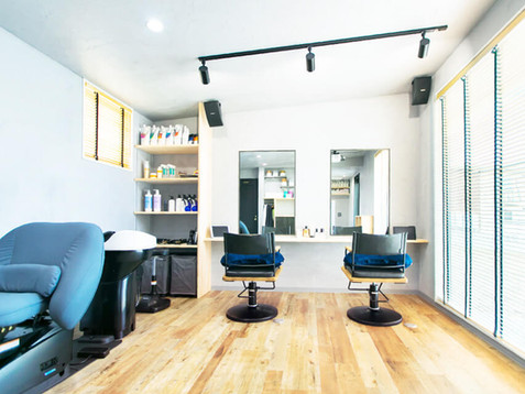 福井県小浜市の美容室[E/m hair]を注文住宅