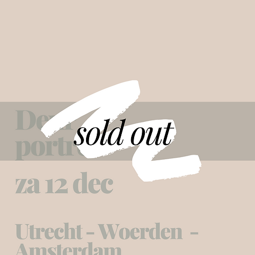 Zaterdag 12 december || Utrecht - Woerden - Amsterdam