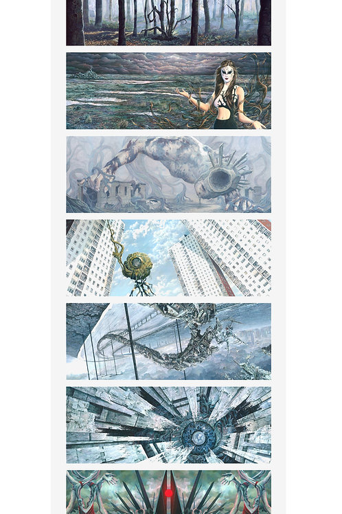 The Seven Gates Series Limited Edition Print