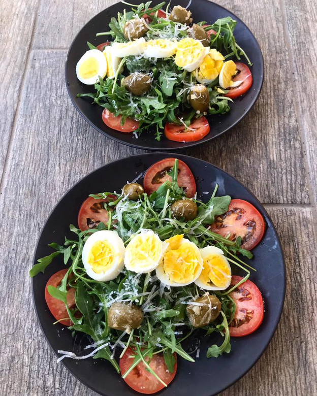 Lemon Arugula Salad