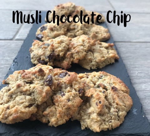 Musli Chocolate Chip Cookies