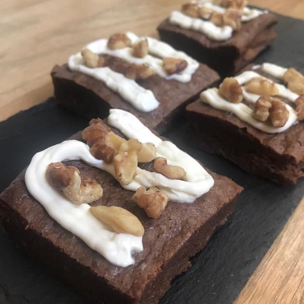 Cream Cheese Walnut Brownies