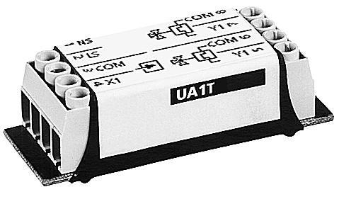 HVPUA1TLF Усилитель мощности для термических приводов AC 24 В, ШИМ