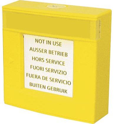 DMA1192-AC Корпус желтый, со стеклом и ключом