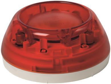 FDS229-R Светозвуковой оповещатель тревоги, красный