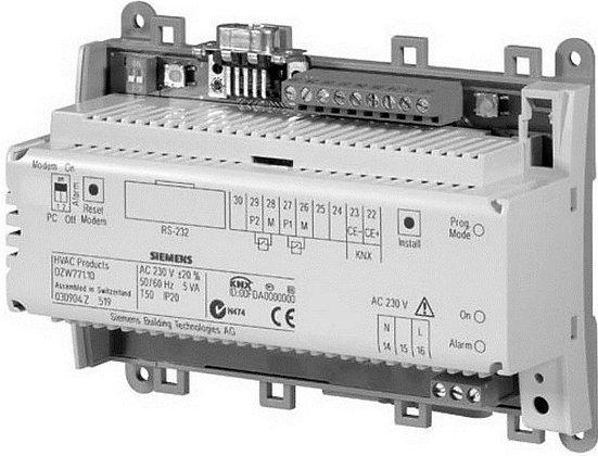 OZW771.04 Центральный коммуникационный модуль для 4 контроллеров