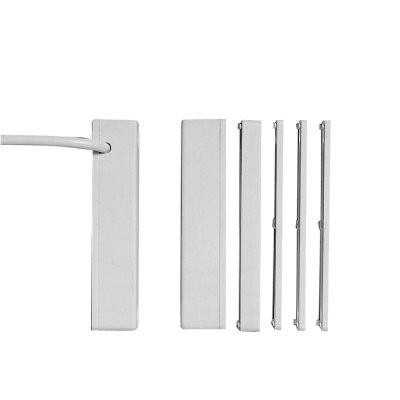AMK48SLSA-W4M Магнитный контакт, цвет - белый, для накладного монтажа