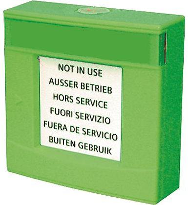 FDMH293-G Корпус зеленый, со стеклом и ключом