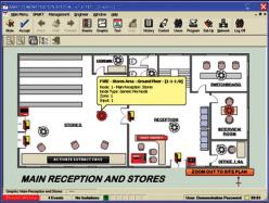 GRAPHPACK11-20 ПО системы мониторинга для 11-20 станций CF3000