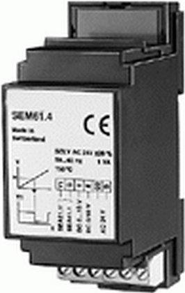 SEM61.4 Преобразователь сигнала DC 0…10 V или DC 0 / 10 V в AC 0 / 24 V