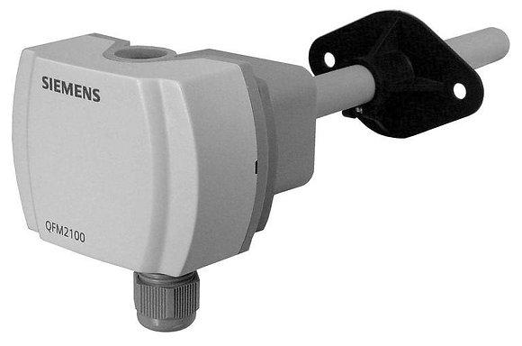QPM2162 Канальный датчик качества воздуха CO2+температура+отн. влажность