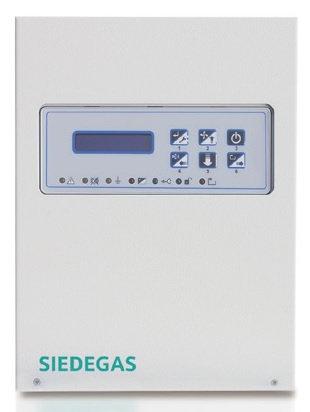 SIEDGCT0110 SIEDEGAS mini Панель управления на 1 линию/16 детекторов