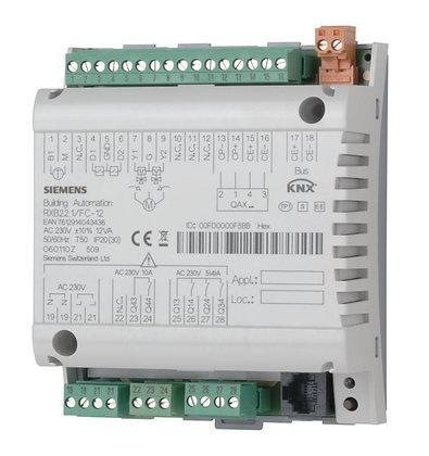 RXB22.1/FC-12 Комнатные контроллеры для 3-скоростных вентиляторов и электронагре