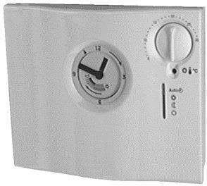 RAV11.1 Аналоговый контроллер температуры в помещении с 24-часовым таймером