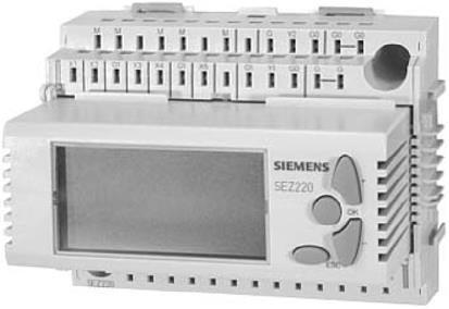 RLU220 Универсальный контроллер, 1 контур регулирования, 2 аналоговых выхода