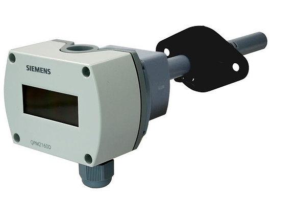 QPM2160D Канальный датчик качества воздуха CO2+температура
