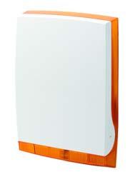 ISRW6-12T Беспроводная наружняя сирена, оранжевая