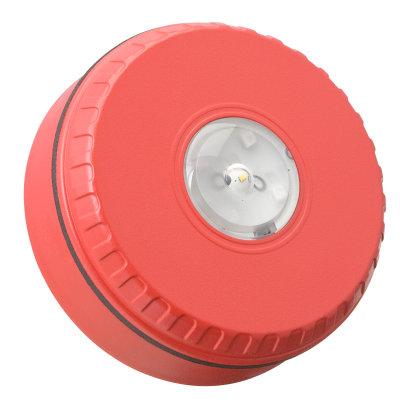SOLISTA-LX-C-R Потолочная сирена, красная (малая база)