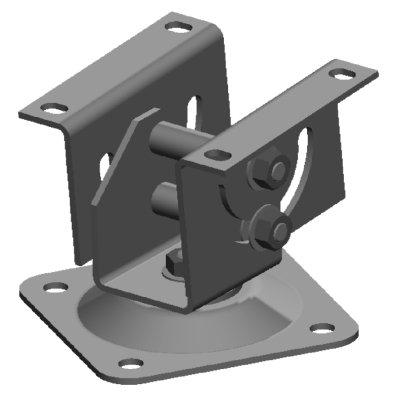 CAHA1040 Шарнирное крепление-адаптер для кожухов серии CHSL401x/CHSM221x