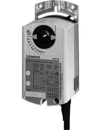 GLB181.1E/3 Компактный модульный контроллер объема воздуха