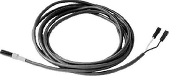 QAH11 Кабельный датчик температуры ПВХ 2.5 м, NTC 3 kΩ, с коннекторами 2.8 × 0.8