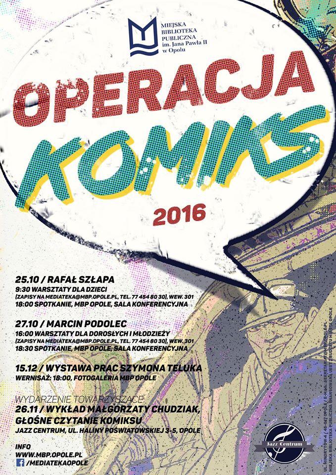 Operacja Komiks plakat