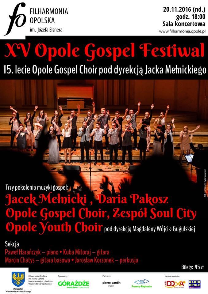 Opole Gospel Festival plakat