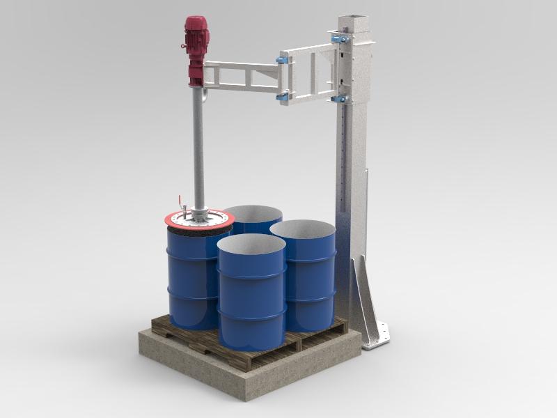 55 Gal Multiple Drum Pump