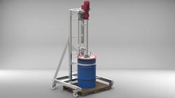 55 Gal Single Drum Pump