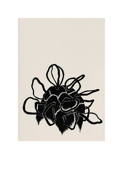 'Sillhouette' A2 giclee print