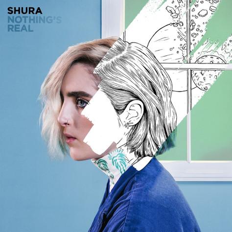 Shura 'Nothings real' album cover