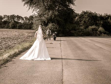 Sandra & Robert mit dem Motorrad