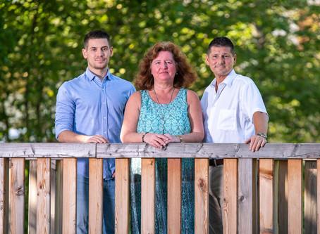 Familienshooting Familie Weber