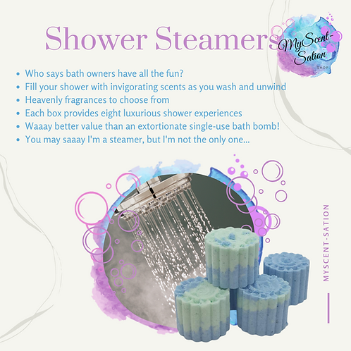 SHOWER STEAMERS - PICK YOUR OWN