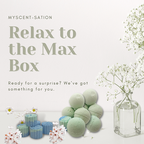 RELAX TO THE MAX BOX