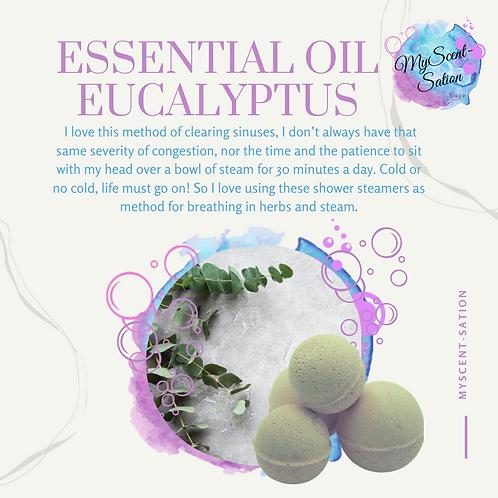 ESSENTIAL OIL - EUCALYPTUS SHOWER STEAMERS