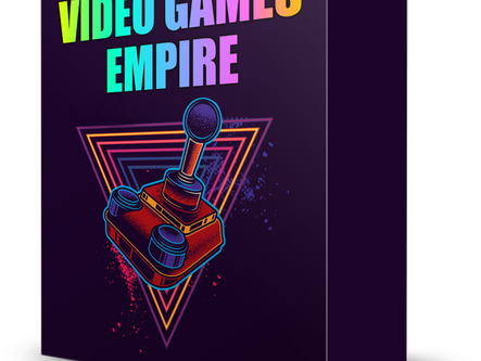 😍 Video Games Empire is Finally Live! 😍