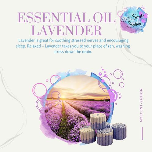 ESSENTIAL OIL - LAVENDER SHOWER STEAMERS X6