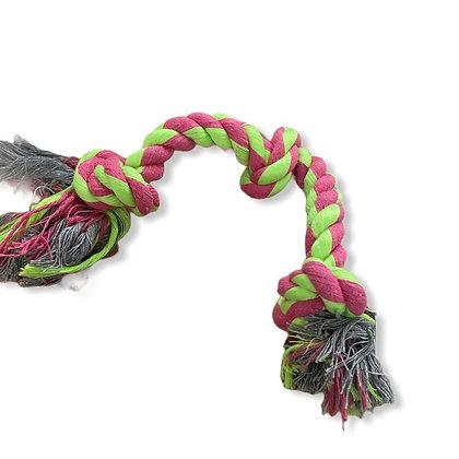 Corde tressé bicolore